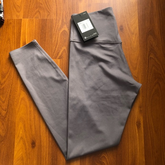 Nike One Luxe Women's 78 Tights Grey NWT